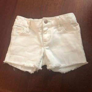 Old Navy size 5 regular white denim shorts